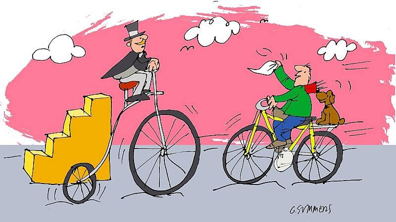 ¡Pero qué invento es esto!  - La bicicleta y el LSD