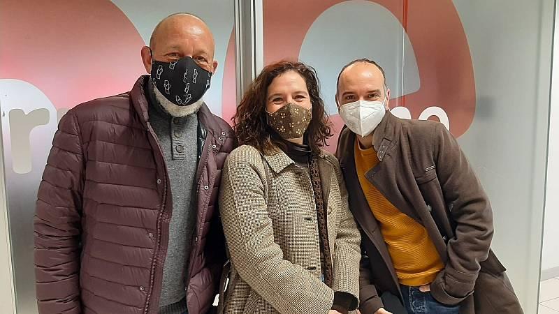 La sala - Teatreros en los Goya: Chema del Barco, Jorge Muriel y Silvia de Pé - 27/02/21 - Escuchar ahora