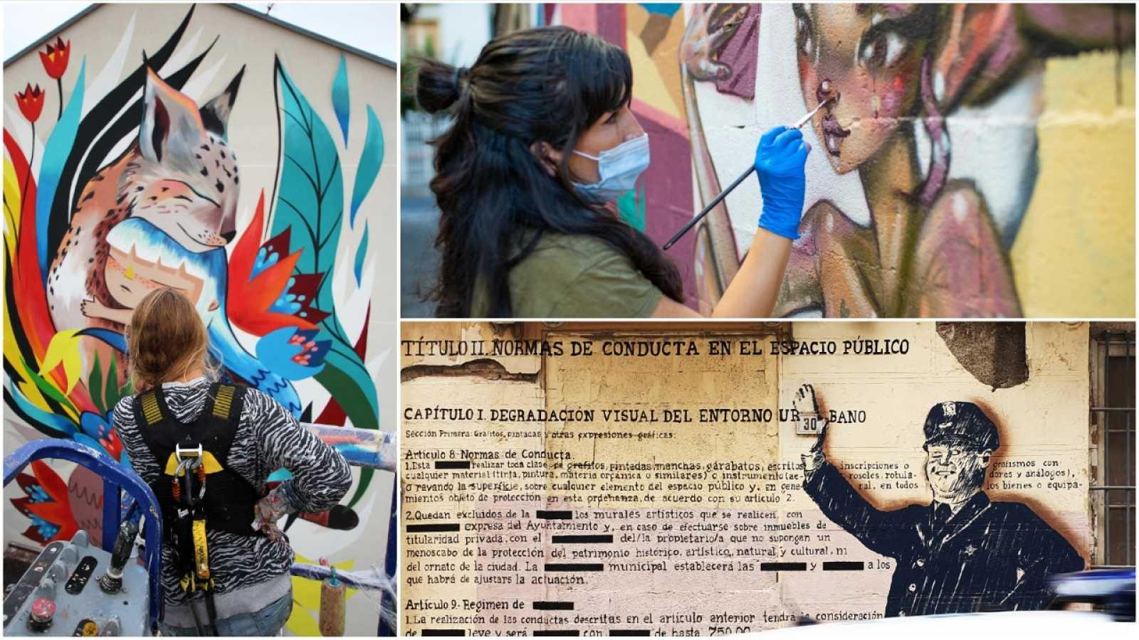 Utopías - La Calle Como Museo: Arte Urbano y Grafiti - 28/02/21 - escuchar ahora