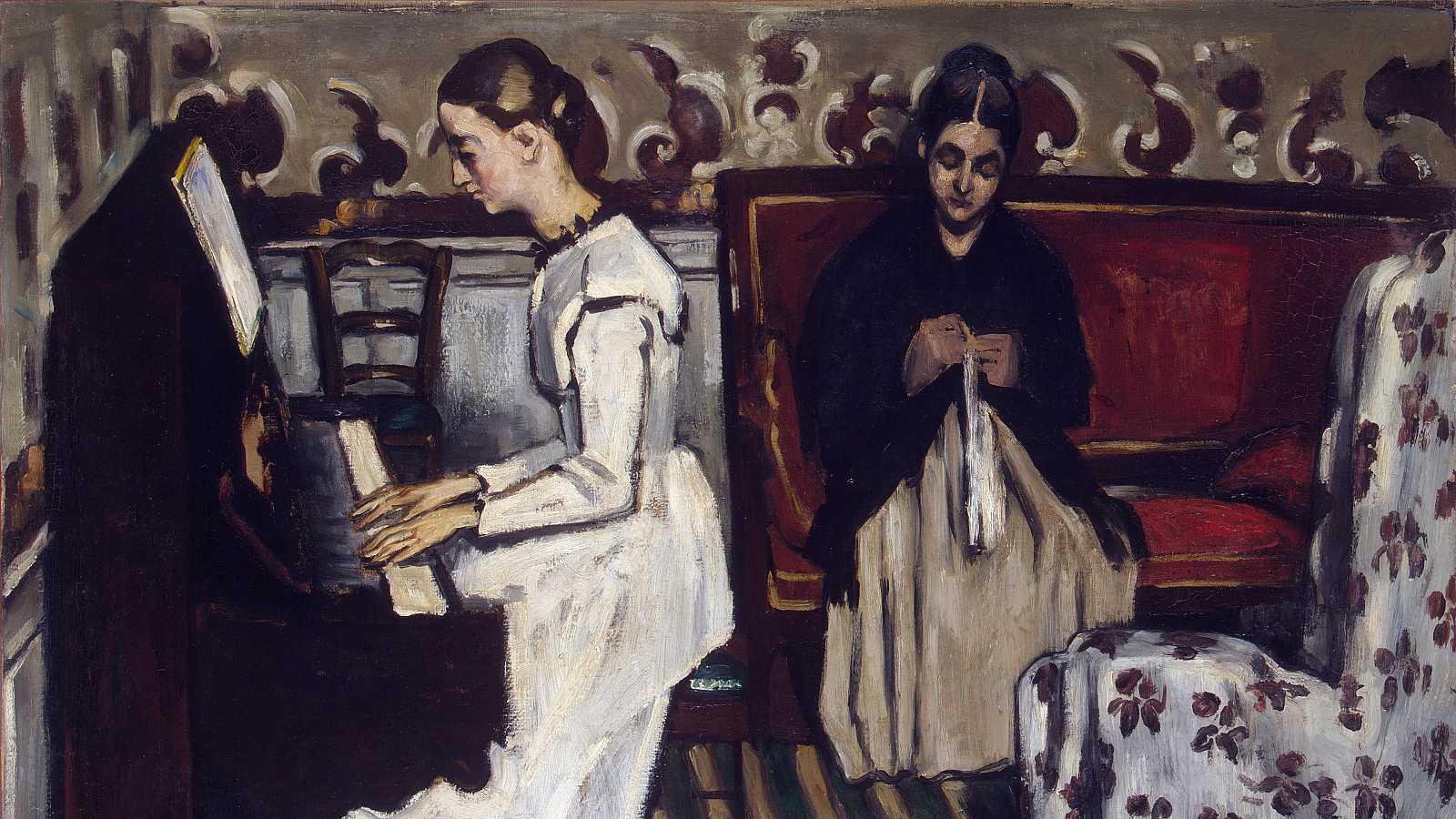 Ruth Piquer 'Muchacha al piano de Cézanne' - escuchar ahora