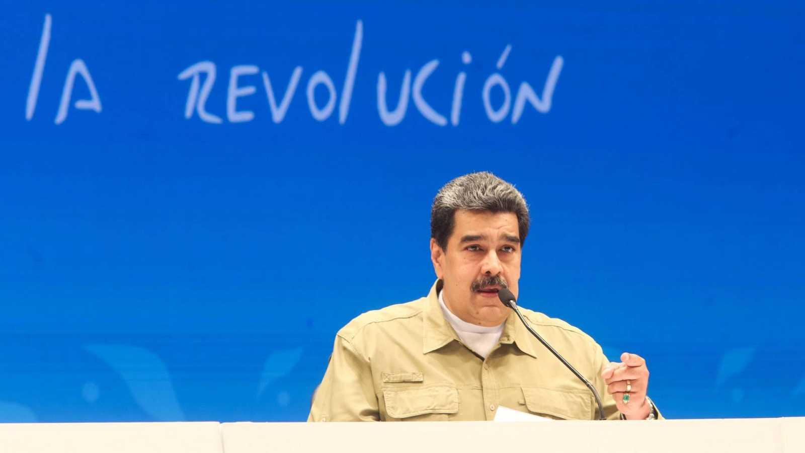 España a las 8 Fin de Semana - Nicolás Maduro revisará sus relaciones con España - Escuchar ahora