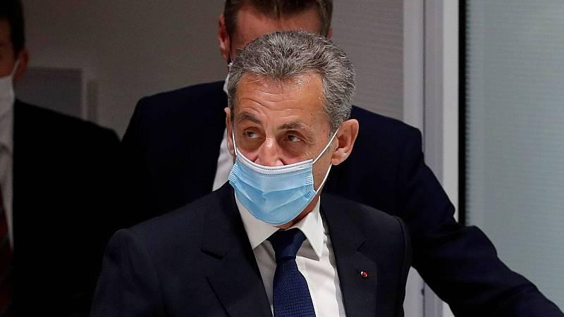 14 horas - Sarkozy, condenado a tres años de cárcel por corrupción - Escuchar ahora