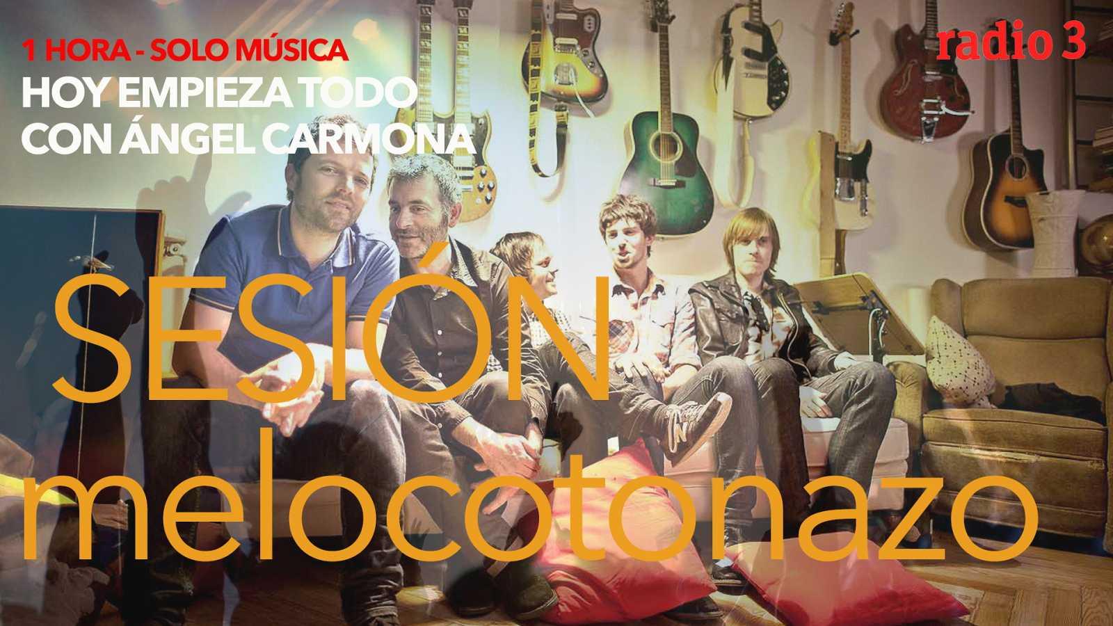 Hoy empieza todo con Ángel Carmona - #SesiónMelocotonazo: Coldplay, La habitación roja, Rozalén... - 02/03/21 - escuchar ahora