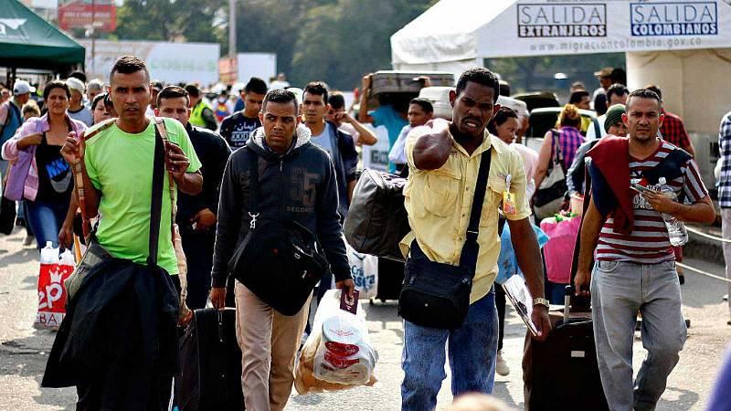 Hora América - Continúa el éxodo venezolano a pesar de la pandemia - 01/03/21 - escuchar ahora