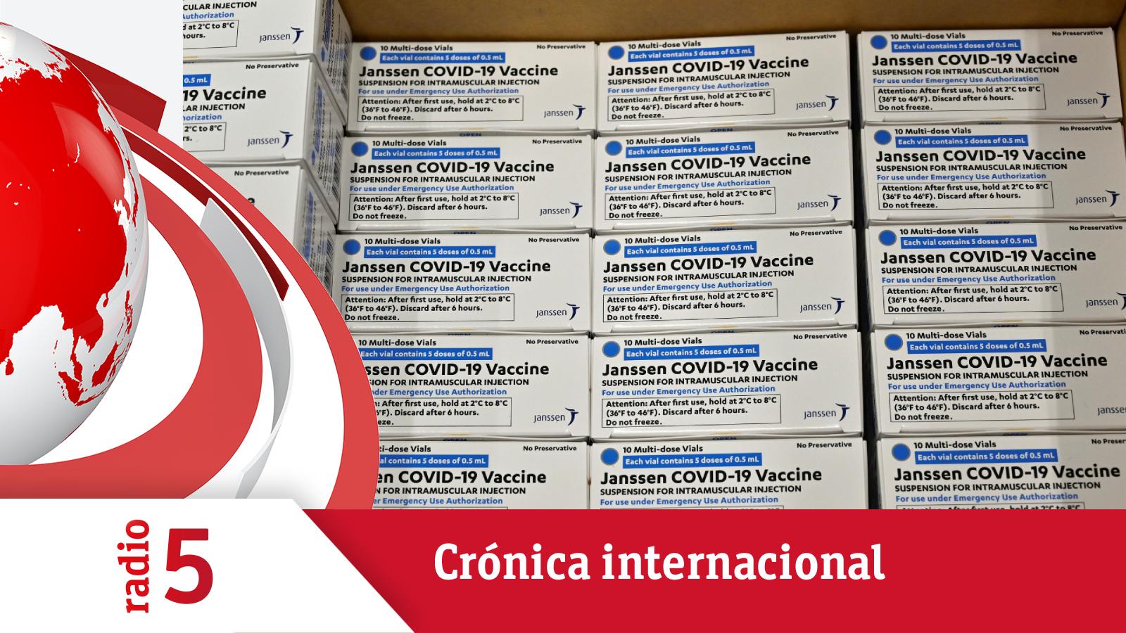 Crónica internacional - EEUU ya tiene la vacuna de J&J - Escuchar ahora