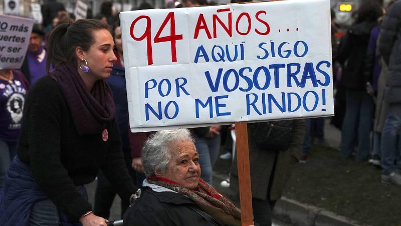24 horas - Cómo está el movimiento feminista en España de cara al 8M - Escuchar ahora