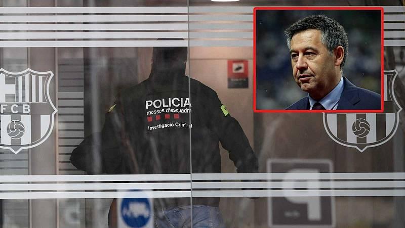 L'expresident del Barça, Josep Maria Bartomeu, queda en llibertat amb càrrecs