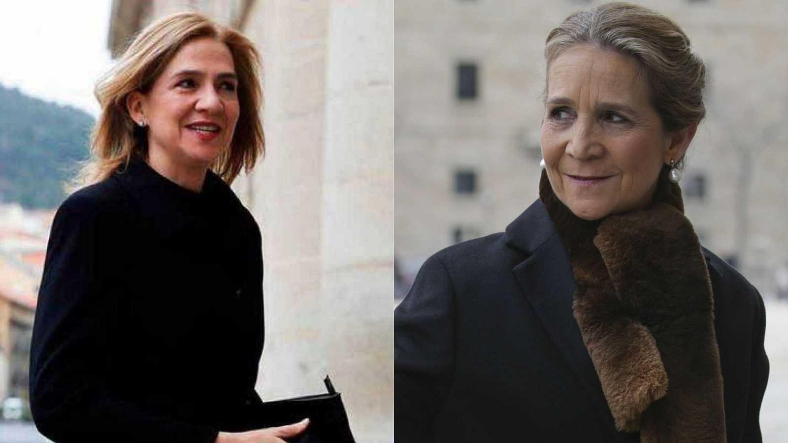 """24 horas - Zarzuela dice que la supuesta vacunación de las Infantas Elena y Cristina """"no les concierne"""" - Escuchar ahora"""