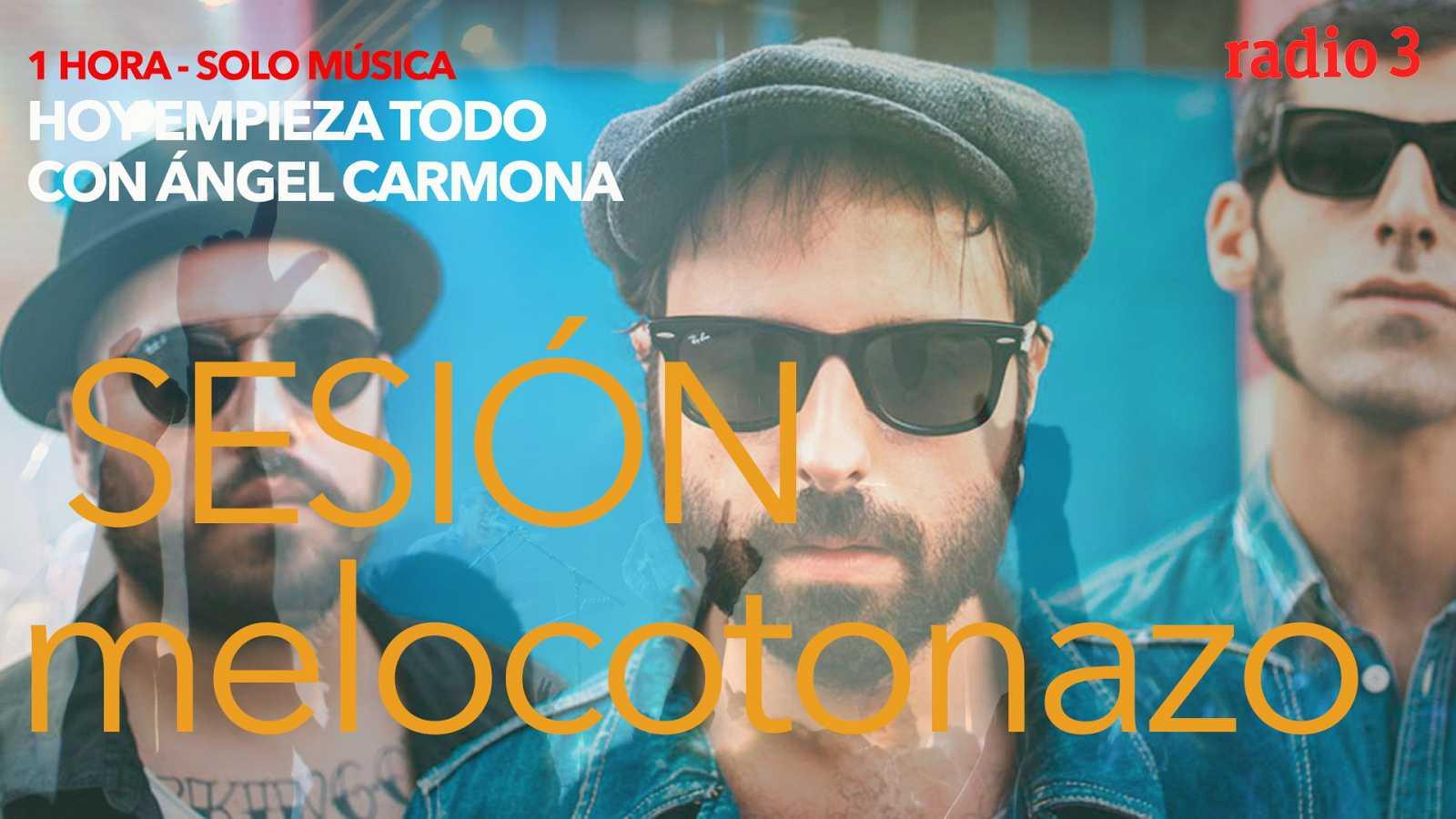Hoy empieza todo con Ángel Carmona - #SesiónMelocotonazo: Aviador Dro, Sidecars, The Horrors... - 04/03/21 - escuchar ahora