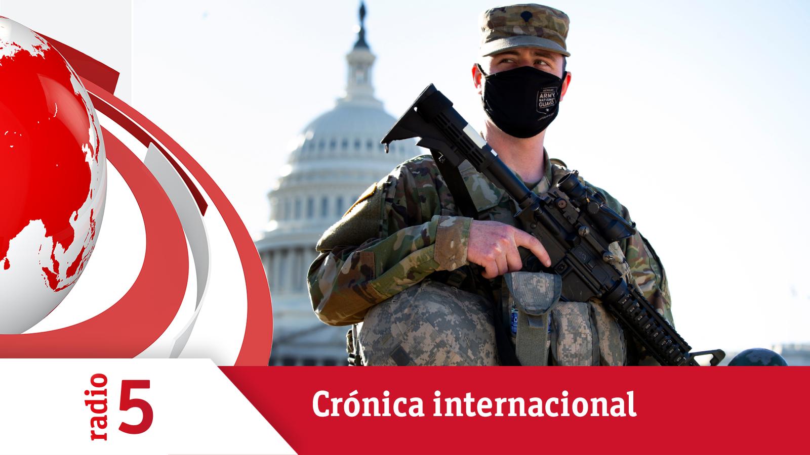 Crónica Internacional - El Congreso de EEUU, cerrado por otro potencial asalto al Capitolio - Escuchar ahora