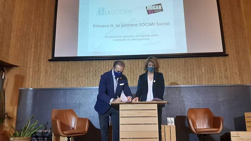 Más cerca -  Primero H; la primera SOCIMI Social contra el sinhogarismo - Escuchar ahora