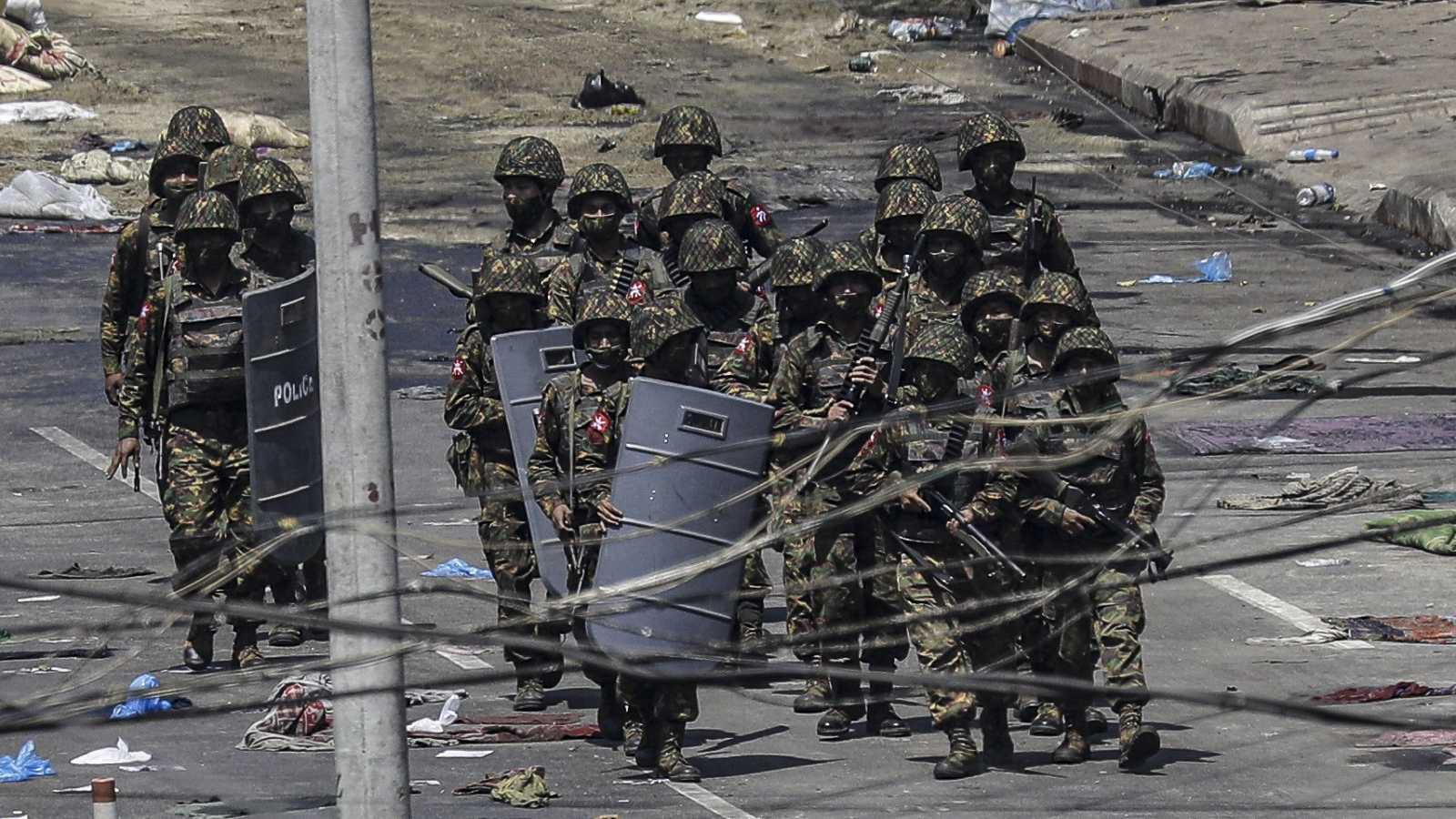 Asia hoy - El mundo democrático condena la represión en Birmania - 04/03/21 - ecuchar ahora