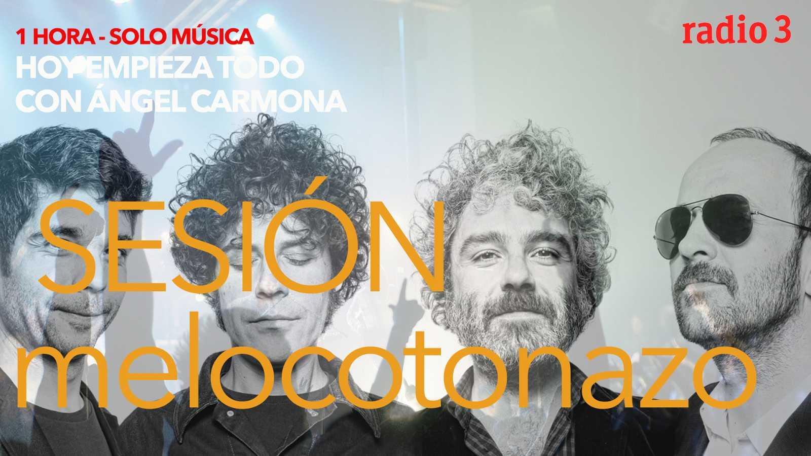 Hoy empieza todo con Ángel Carmona - #SesiónMelocotonazo: Red Hot Chili Peppers, León Benavente, Kiko Veneno... - 05/03/21 - escuchar ahora