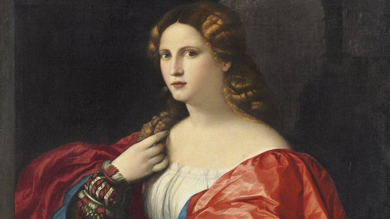 Postal sonora sobre Francesca Caccini - escuchar ahora