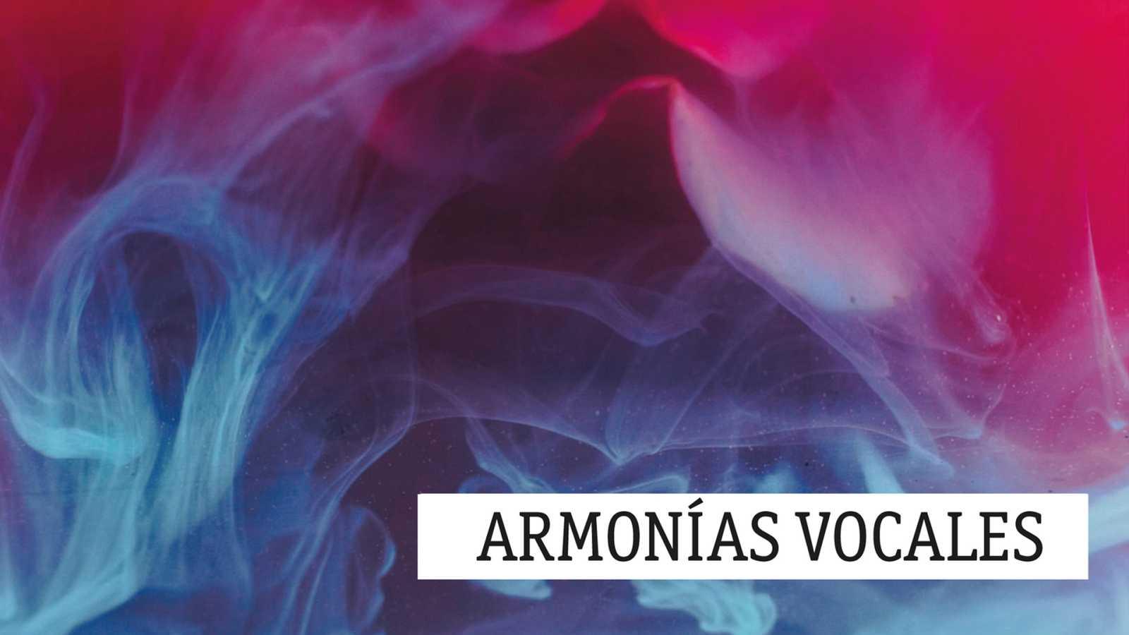 Armonías vocales - Compositoras contemporáneas - 06/03/21 - escuchar ahora