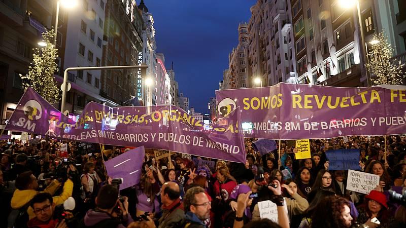 España a las 8 Fin de Semana - La Justicia mantiene la prohibición de las manifestaciones del 8M en Madrid - Escuchar ahora