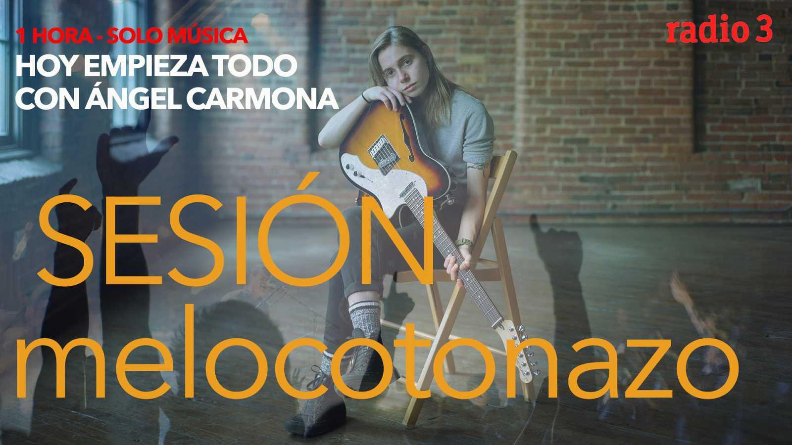 """Hoy empieza todo con Ángel Carmona - """"#SesiónMelocotonazo"""": Los Saicos, Julien Baker, St. Vincent... - 08/03/21 - escuchar ahora"""