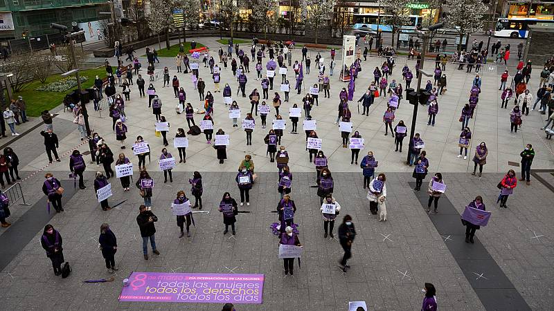 24 horas - Las calles españolas reclaman la igualdad real en un 8M marcado por la pandemia - Escuchar ahora