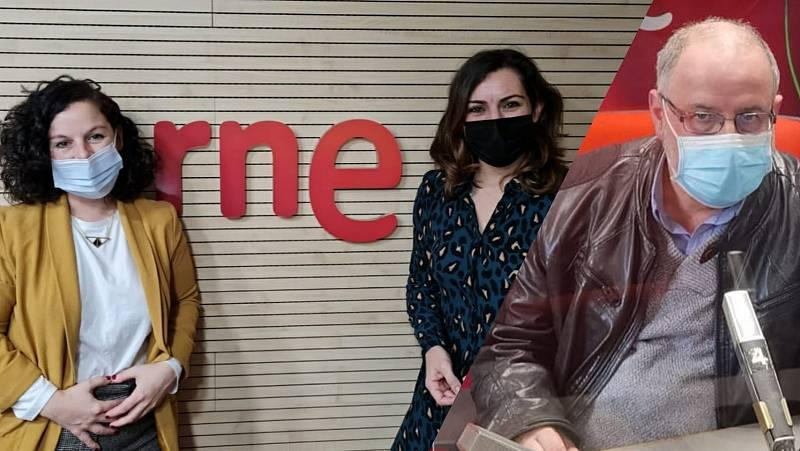 La sala - dFERIA de San Sebastián: Norka Chiapusso, María Goiricelaya y Rocíoo Pindado - 13/03/21 - Escuchar ahora