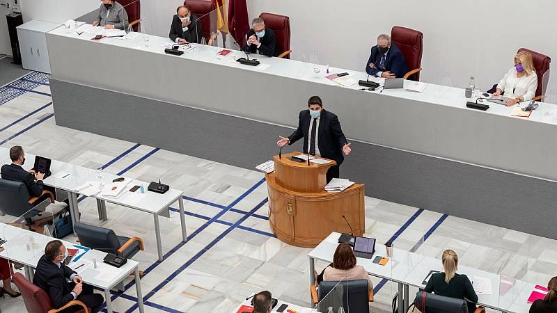 Boletines RNE - PSOE y Ciudadanos registran una moción de censura en Murcia  - escuchar ahora