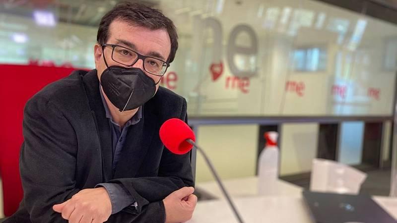 Las mañanas de Radio nacional con Pepa Fernández - Javier Cercas presenta su novela 'Independencia' - Escuchar ahora