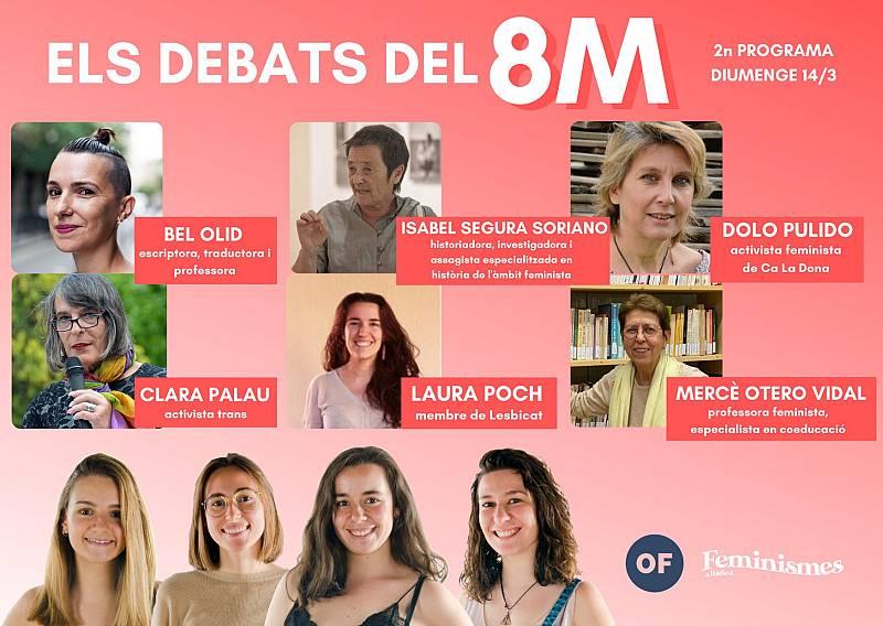 Feminismes a Ràdio 4 - Segon debat del 8M