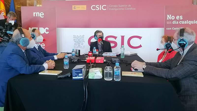 No es un día cualquiera - Investigación de las vacunas en España desde el CSIC - Tertulia - 14/03/2021 - Escuchar ahora
