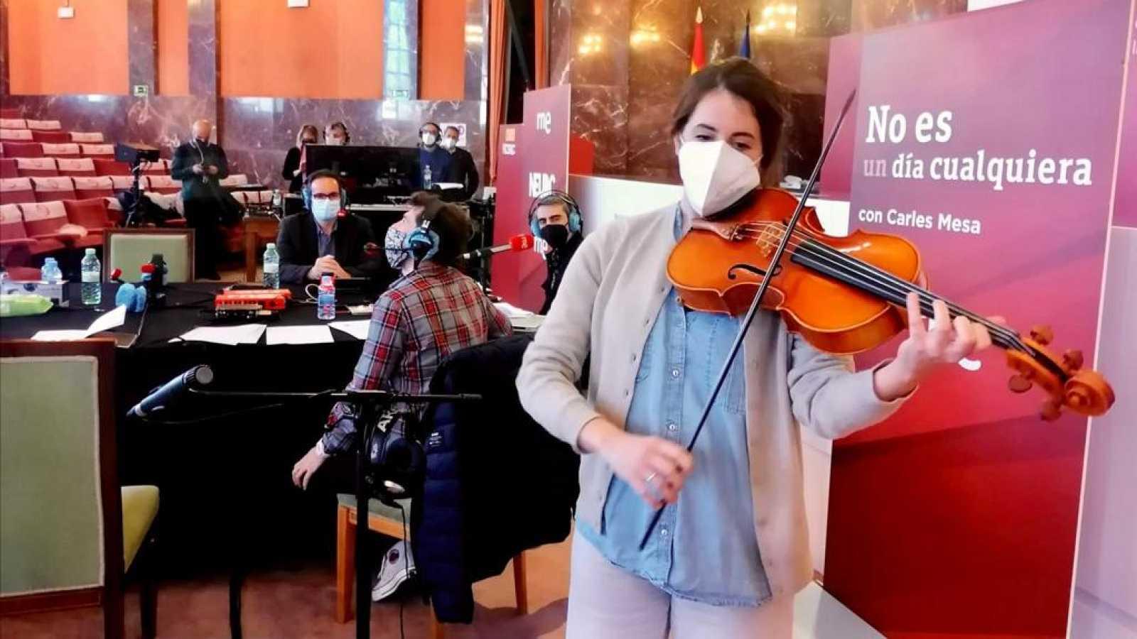No es un día cualquiera - El poder curativo de la música - Andrés Salado - La platea - 14/03/2022 - Escuchar ahora