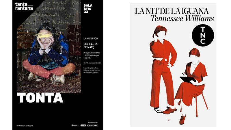 Wonderland - Teatre - 'La nit de la iguana' al TNC i 'Tonta' al Tantarantana