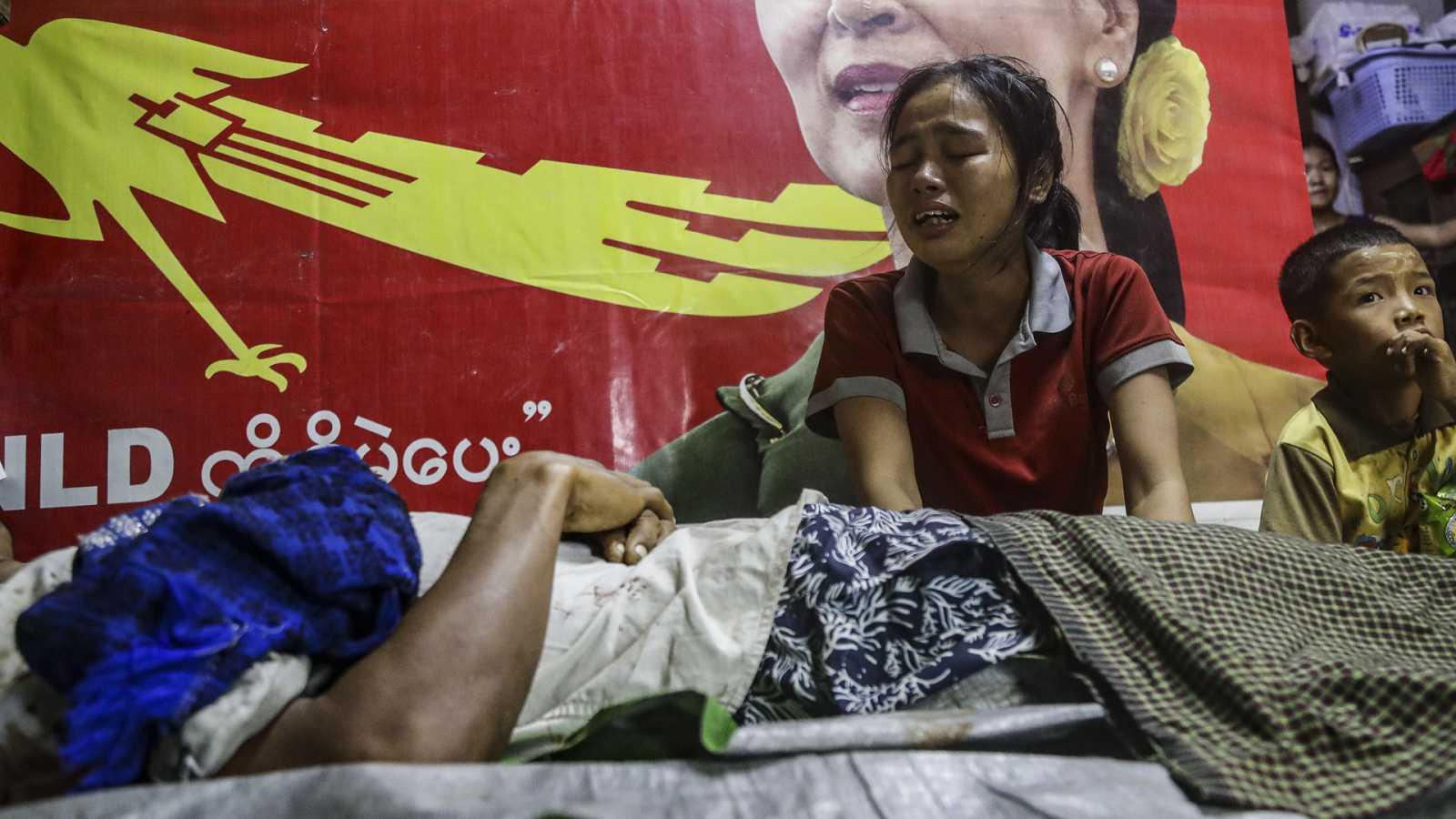 Asia hoy - Birmania se desangra - 15/03/21 - escuchar ahora