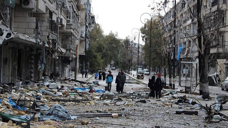 14 horas - Una década de guerra en Siria deja medio millón de muertos - Escuchar ahora