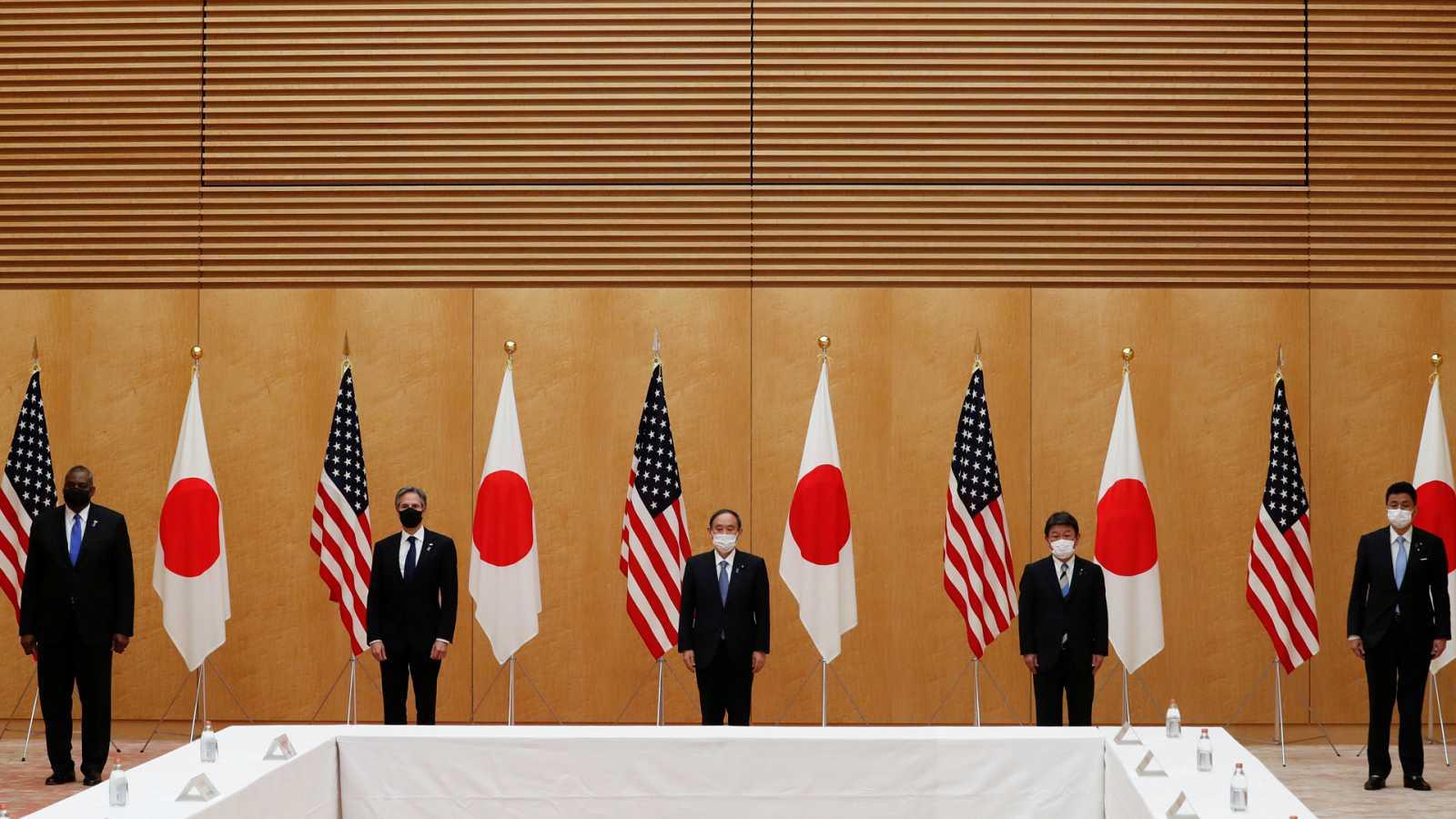 Asia hoy - Estados Unidos refuerza sus alianzas en Asia - 16/03/21 - escuchar ahora