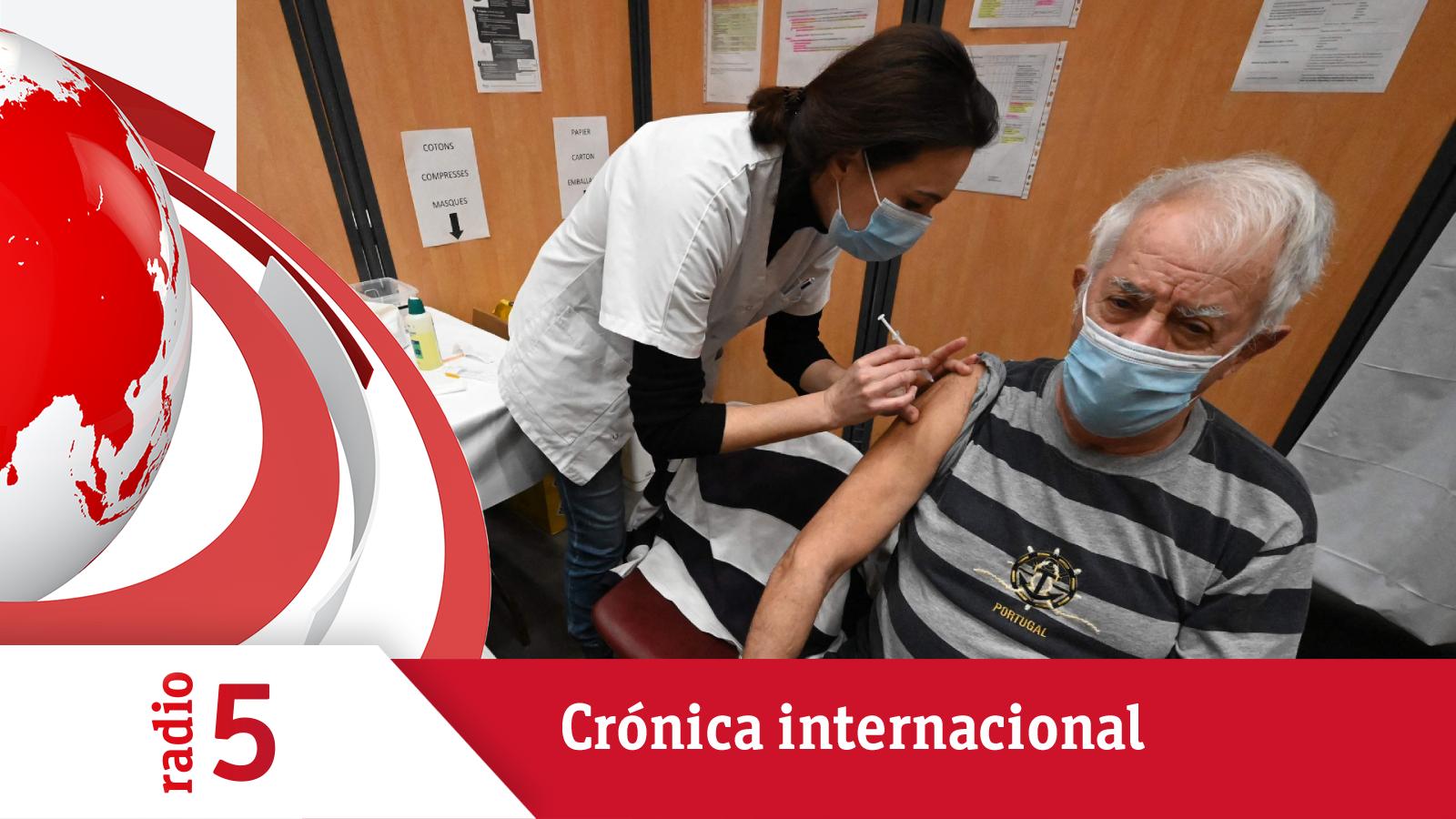 Crónica internacional - La vacunación se ralentiza en el Reino Unido - Escuchar ahora