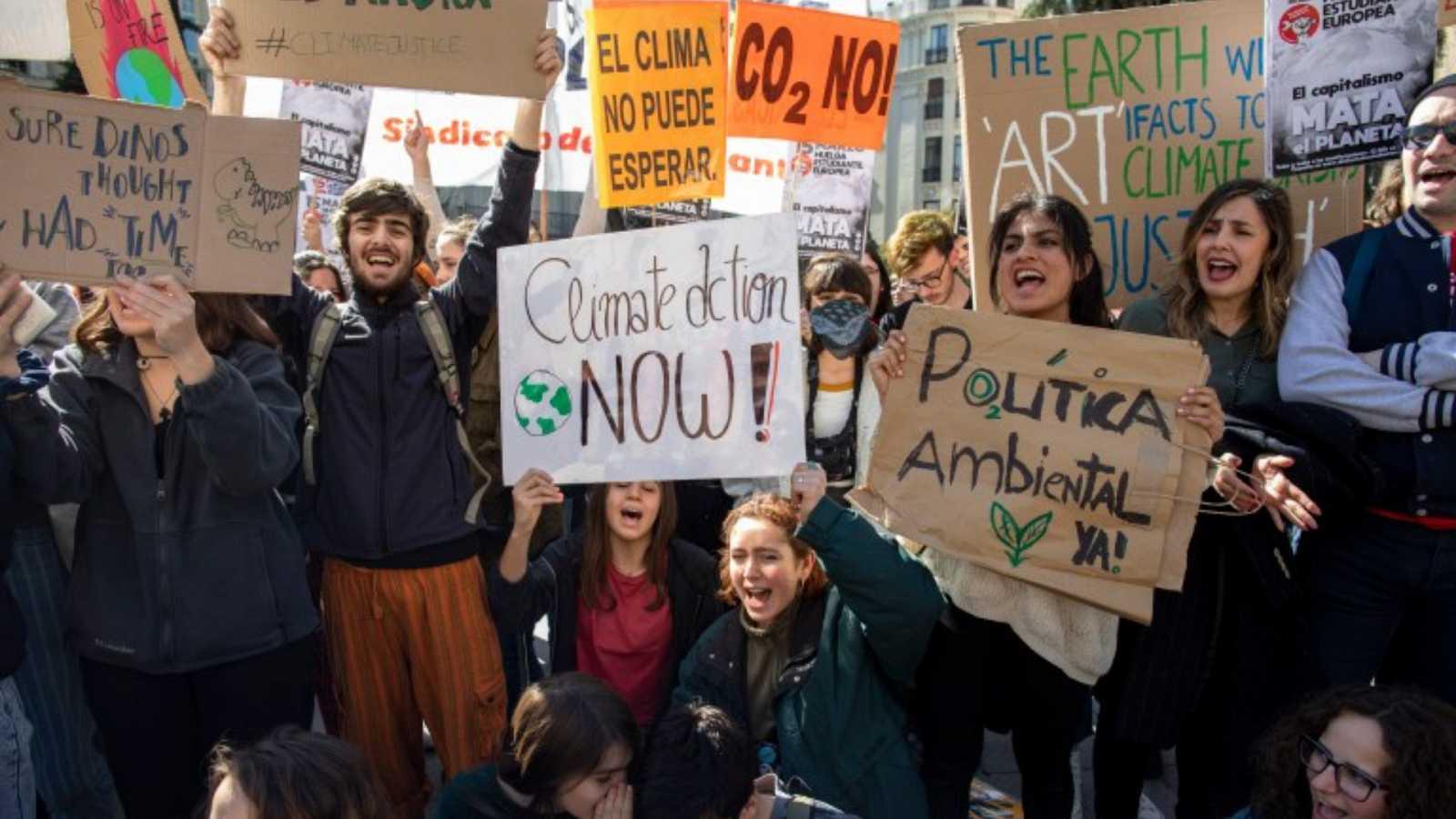 Reserva natural - Los jóvenes vuelven a llevar la batuta climática - 18/03/21 - Escuchar ahora