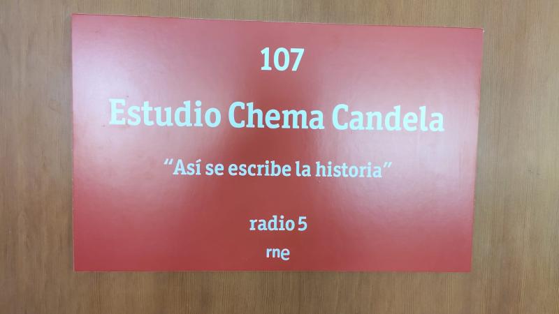 El vestuario en radio 5 - Homenaje a nuestro Chema Candela - Escuchar ahora