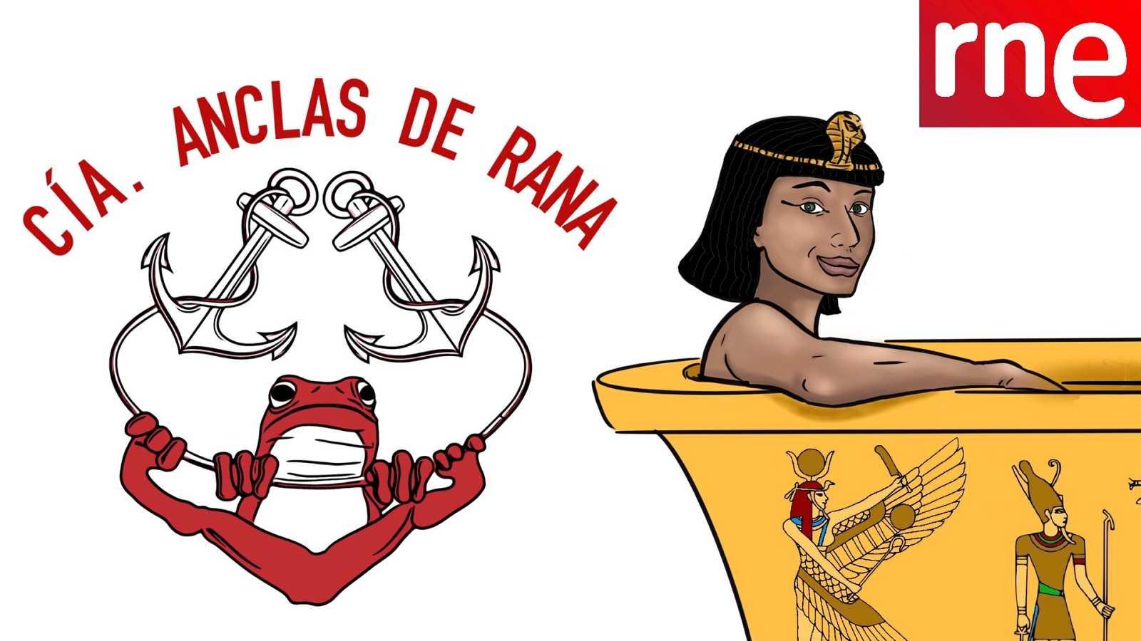 La sala - Cía. Anclas de rana: Desmontando a Cleopatra - 21/03/21 - Escuchar ahora