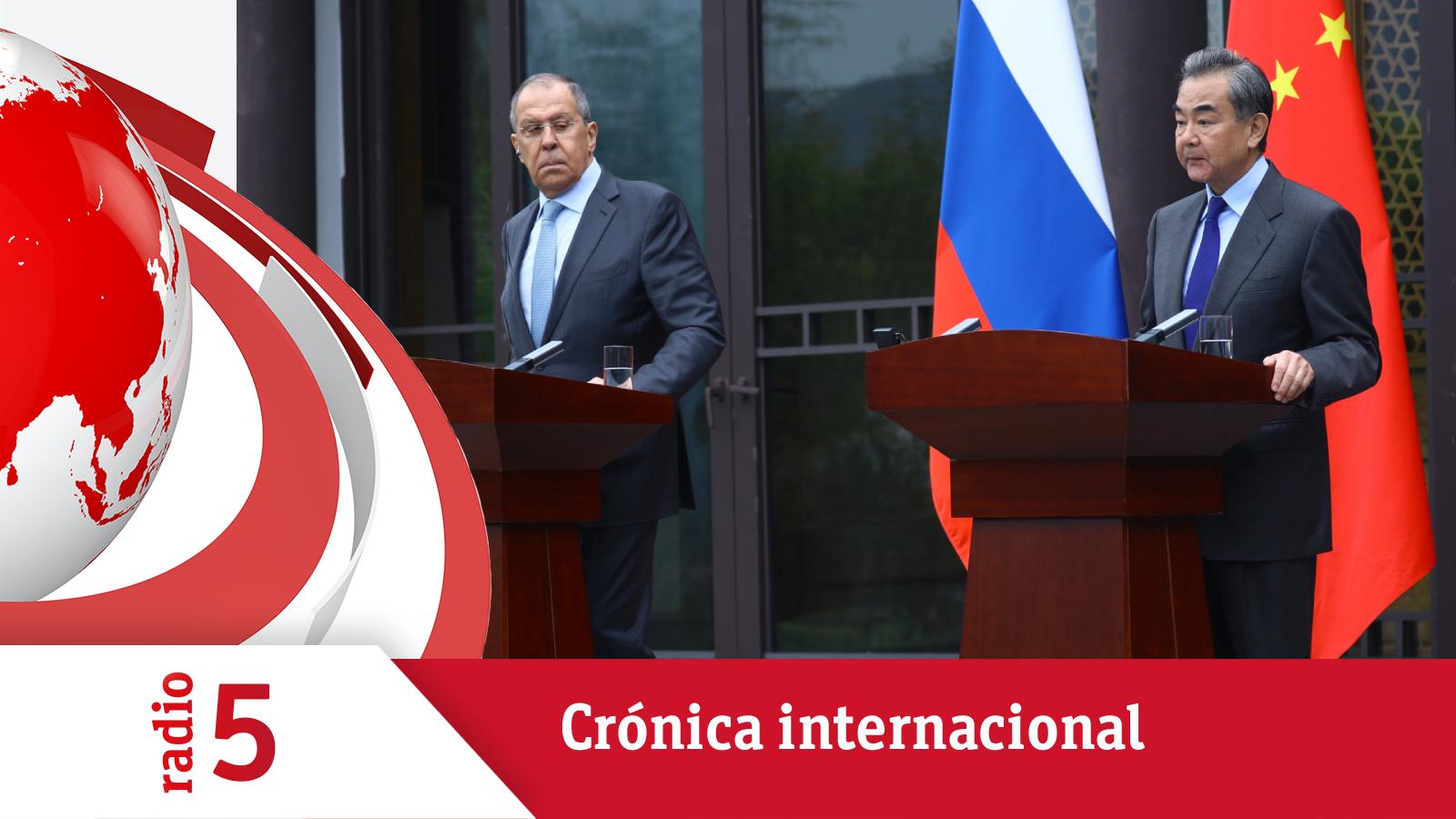 Crónica Internacional - Se tensa la relación de Occidente con Rusia y China - Escuchar ahora