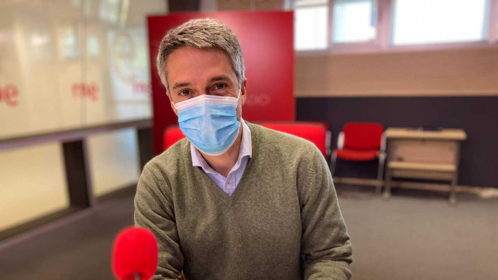 Las Mañanas de RNE con Pepa Fernández - Carlos Franganillo, telediarios e información - Escuchar ahora