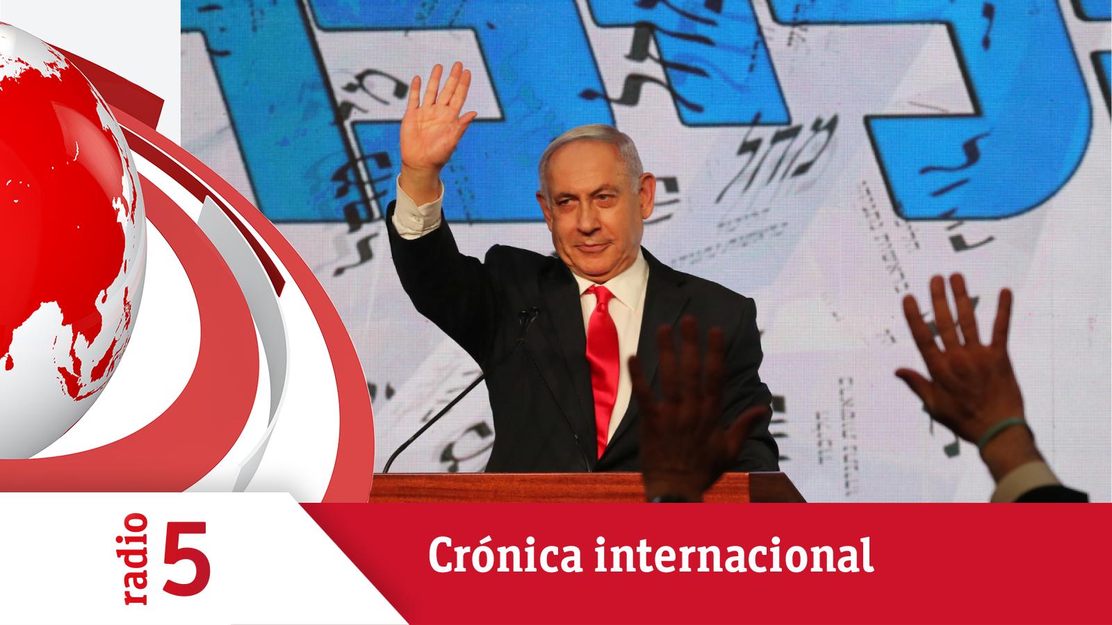 Crónica Internacional - Netanyahu encabeza el recuento en Israel, pero no tiene mayoría - Escuchar ahora