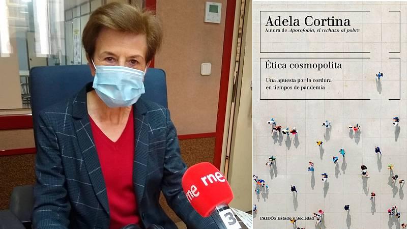 """Las mañanas de RNE con Íñigo Alfonso - Adela Cortina: """"Nos estamos convirtiendo en ciudadanos obedientes y eso es muy peligroso"""" - Escuchar ahora"""