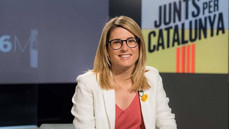 """24 horas - Artadi, JxCat: """"Nuestro único candidato es Pere Aragonés, pero queremos un acuerdo de legislatura"""" - Escuchar ahora"""