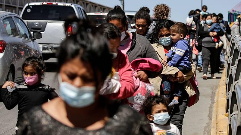 Las mañanas de RNE con Íñigo Alfonso - La desesperación en la frontera de México - escuchar ahora