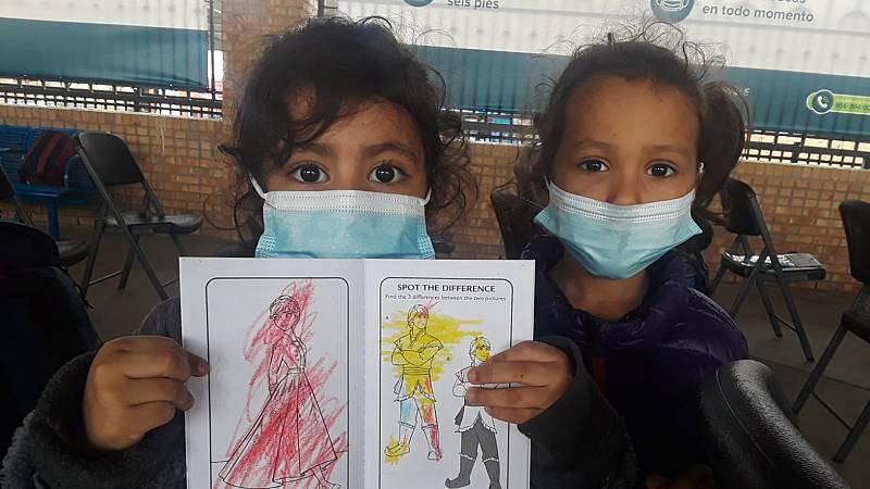 Las mañanas de RNE con Íñigo Alfonso - Los niños de la frontera entre EEUU y México - escuchar ahora