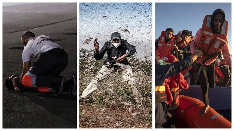 Por tres razones - Los fotoperiodistas están donde ocurre la noticia y la respiran - escuchar ahora