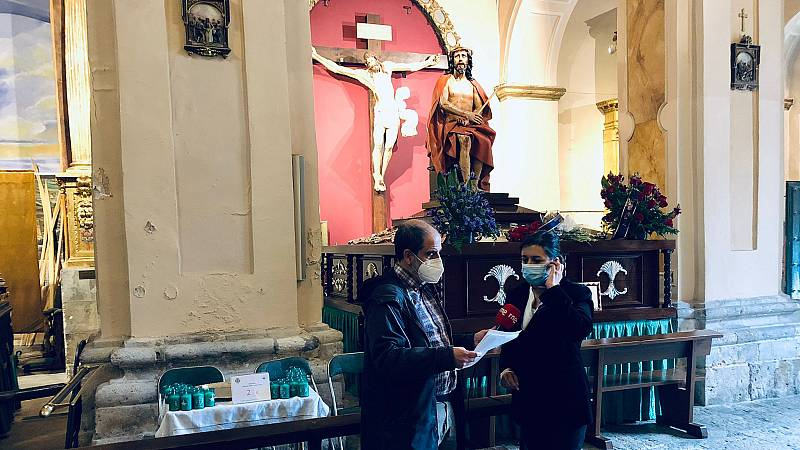 Las mañanas de RNE con Íñigo Alfonso - Jueves Santo: las cofradías se adaptan al segundo año sin procesiones - Escuchar ahora