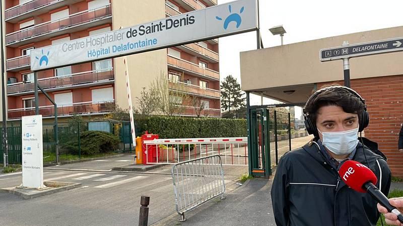 """14 horas - Manuel, enfermero en París: """"Los médicos pasan dos horas al teléfono buscando una cama"""" - escuchar ahora"""