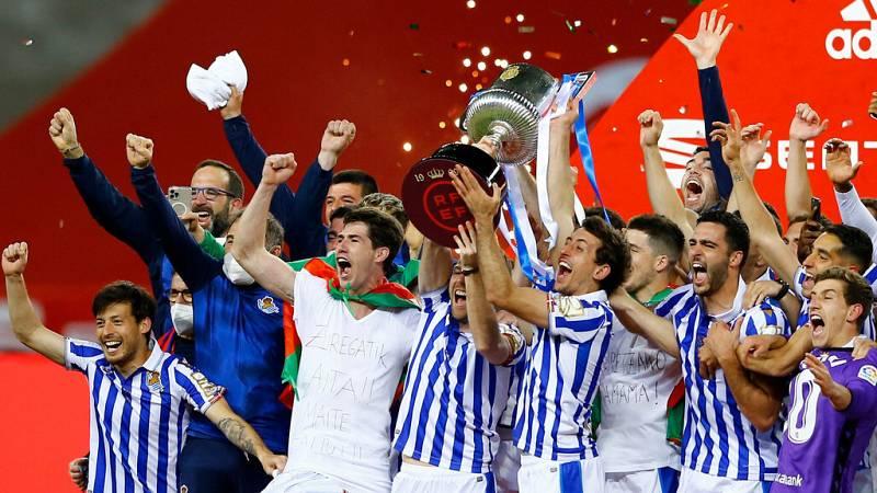 Tablero deportivo - La Real Sociedad gana su tercera Copa del Rey - Escuchar ahora