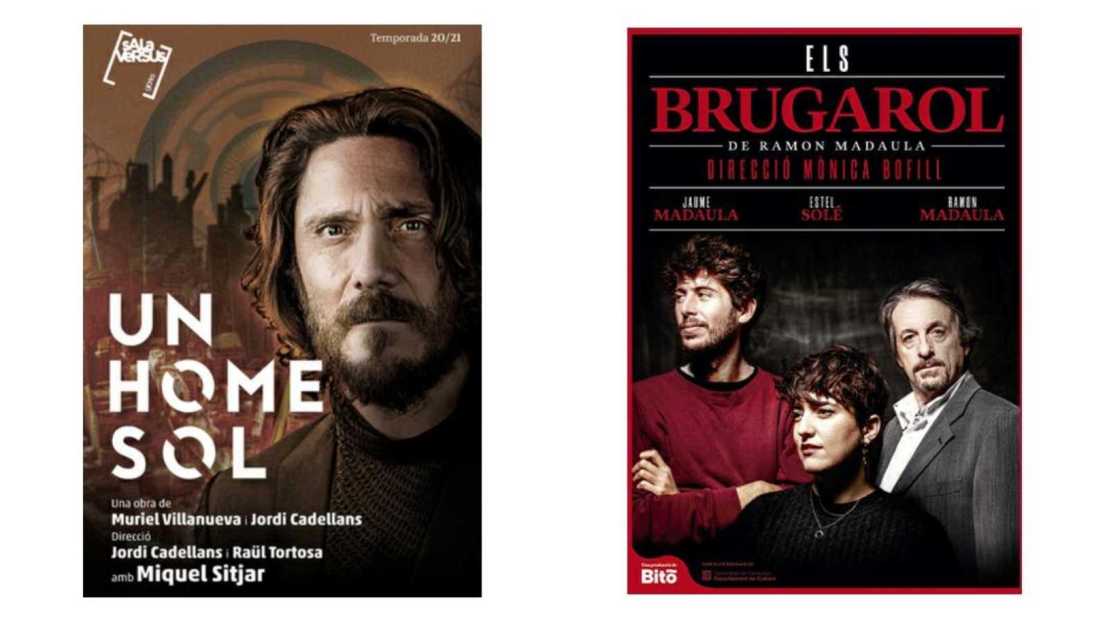 Wonderland -  Teatre: 'Un home sol' i 'Els Brugarol'