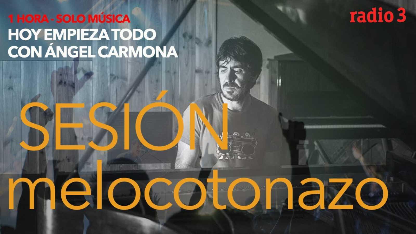 Hoy empieza todo con Ángel Carmona - #SesiónMelocotonazo: John Oates, Luis Prado, Señor Mostaza... - 07/04/21 - escuchar ahora