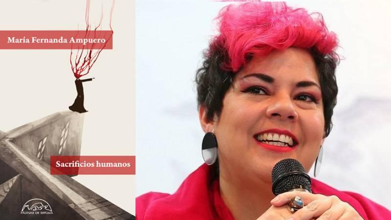 Hora América - María Fernanda Ampuero presenta 'Sacrificios humanos' - escuchar ahora